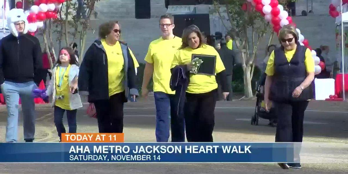 Today at 11: American Heart Association Metro Jackson Heart Walk
