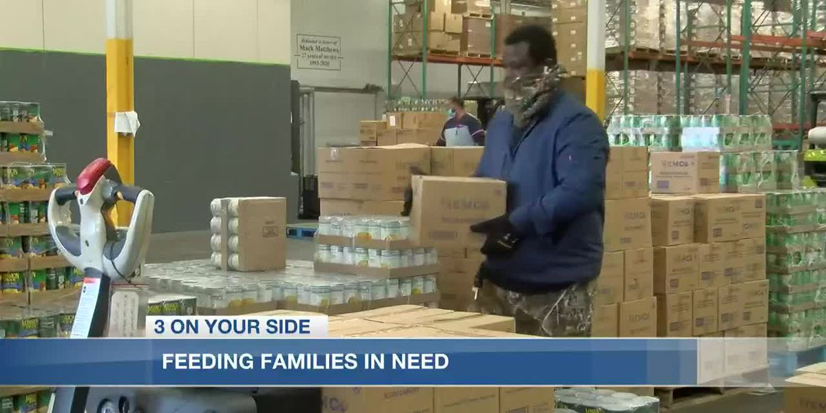 Efforts to feed hungry families takes on a different look in the 21st century