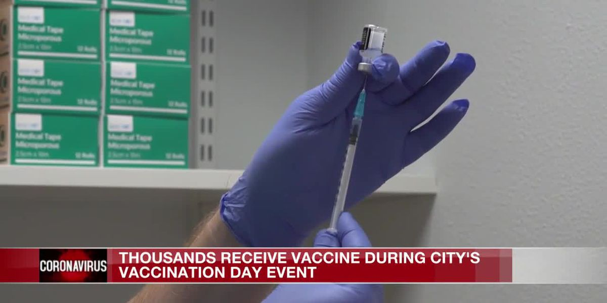 Thousands receive vaccine at City of Jackson's event