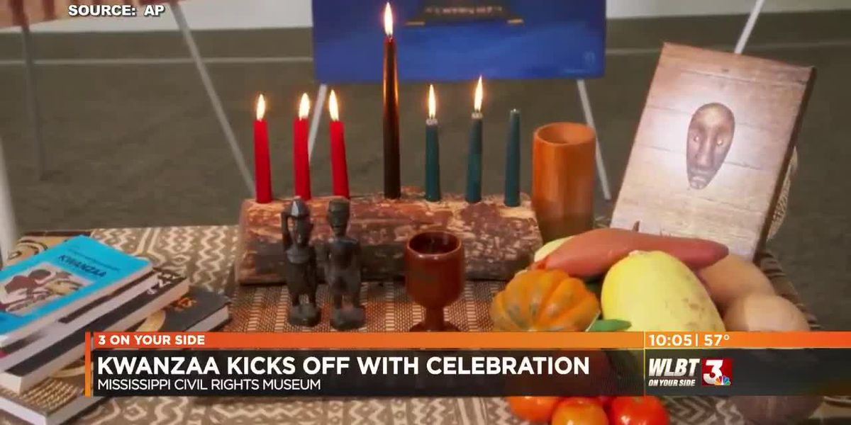 Kwanzaa Kicks off with Celebration at MS Civil Rights Museum.