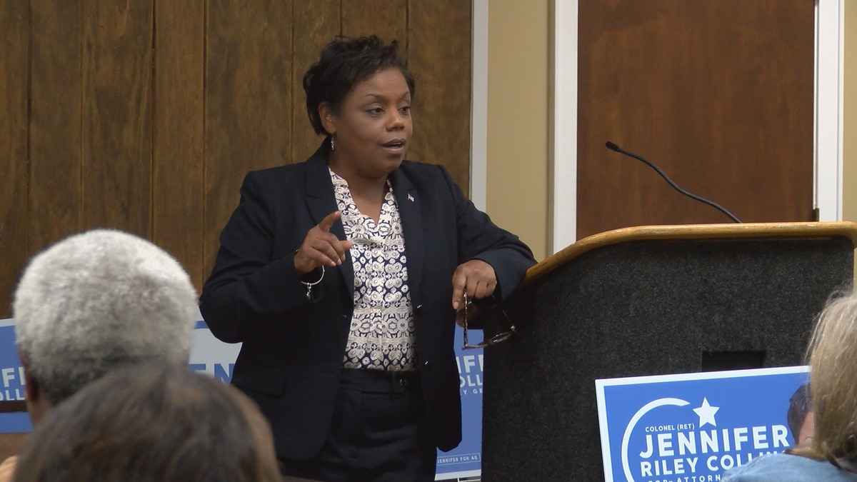 Democratic Attorney General candidate Jennifer Riley Collins remains hopeful after defeat