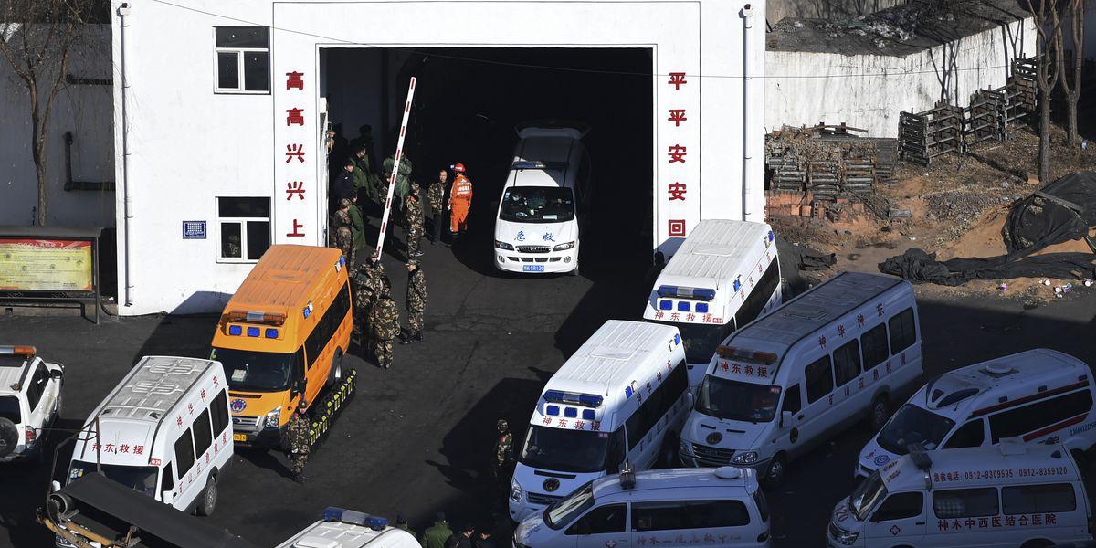 Coal mine collapses in northern China, killing at least 21
