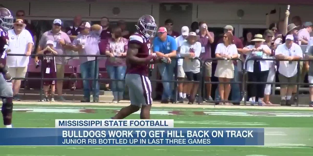 MSU looks to get Kylin Hill back on track