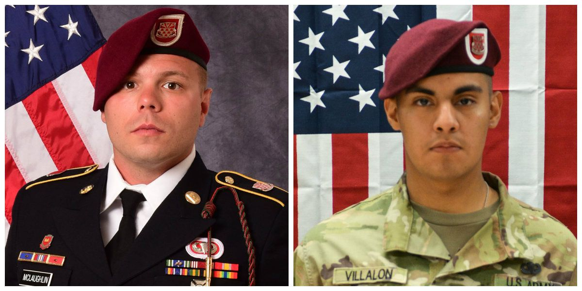 2 Fort Bragg soldiers killed in Afghanistan