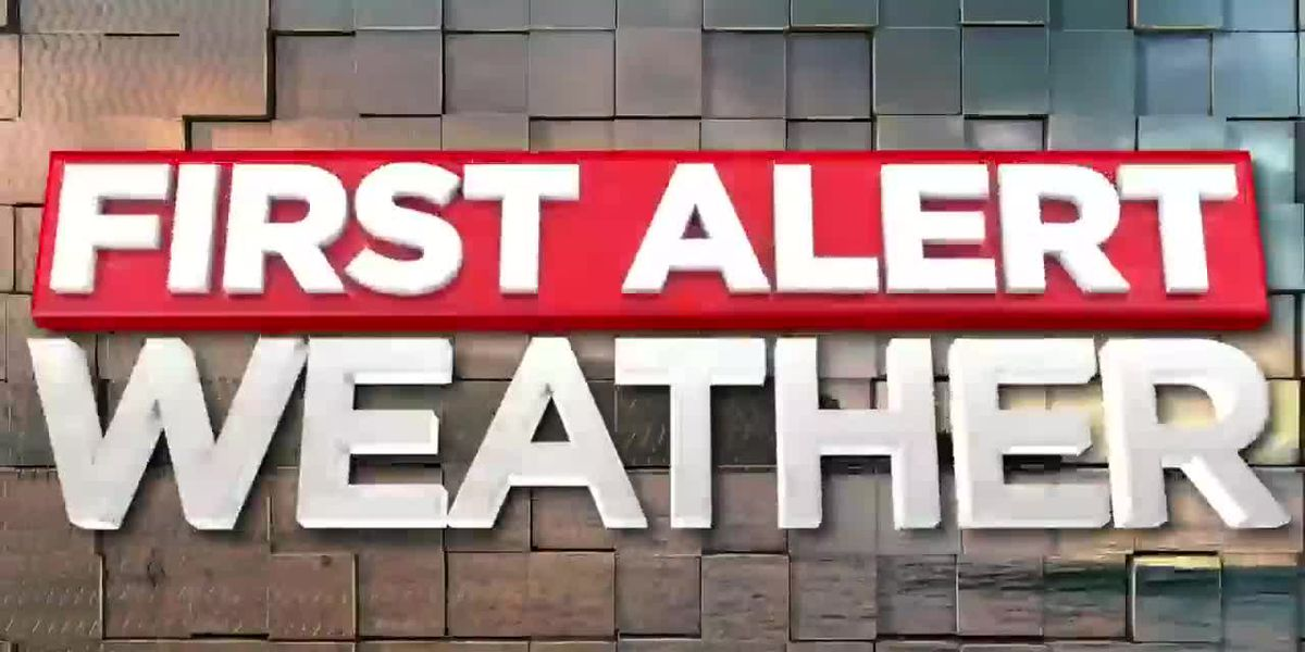 First Alert Forecast: Severe Storms Possible Today
