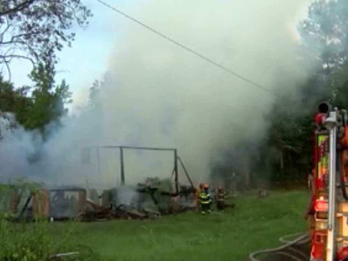Hazlehurst home total loss after being struck by lightning