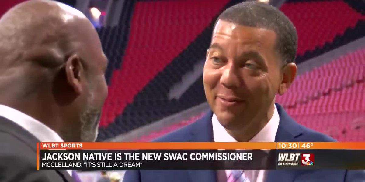 """Jackson native on becoming SWAC Commissioner: """"It's still a dream"""""""