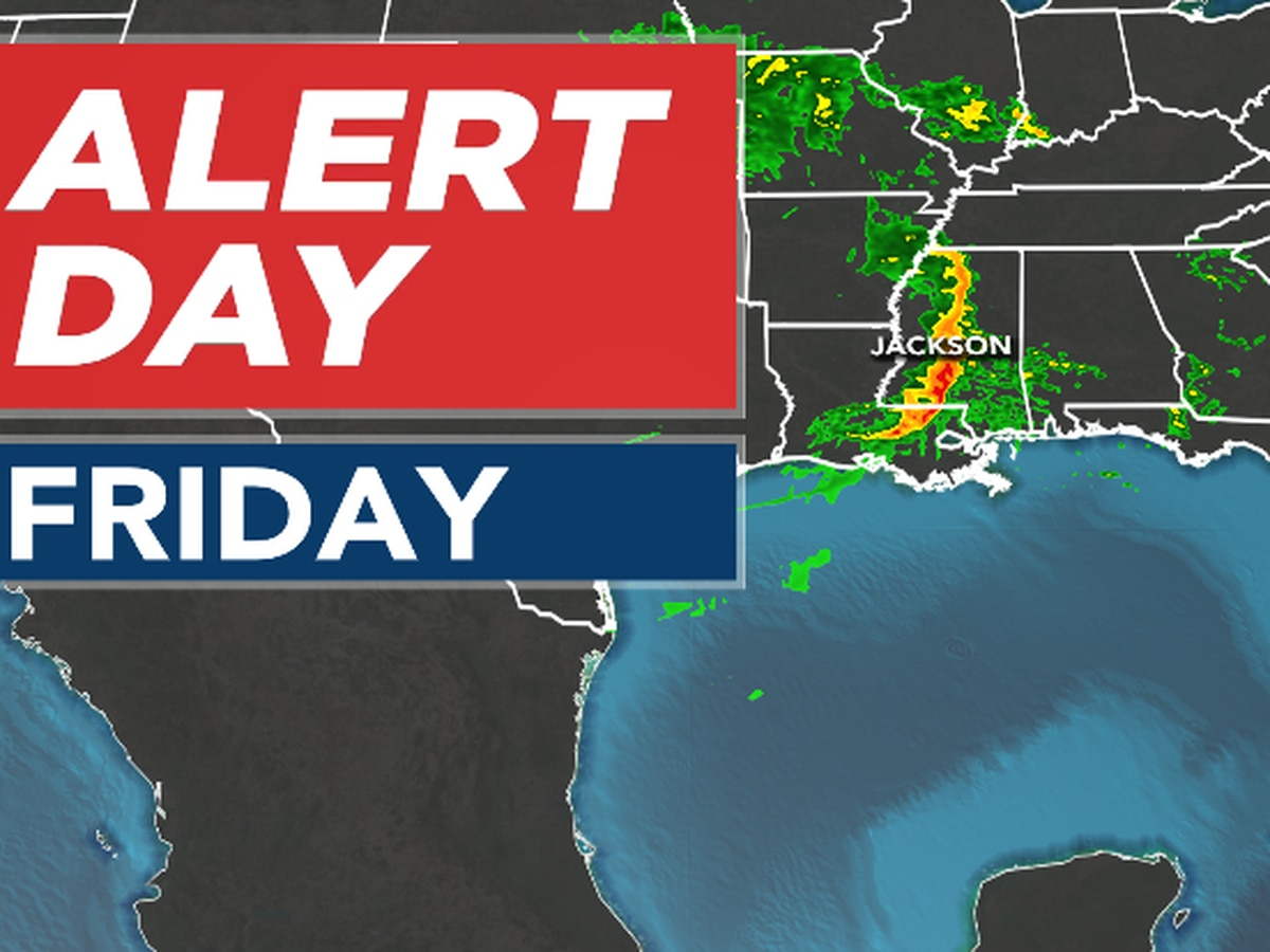 ALERT DAY: Severe weather enters Central Miss.