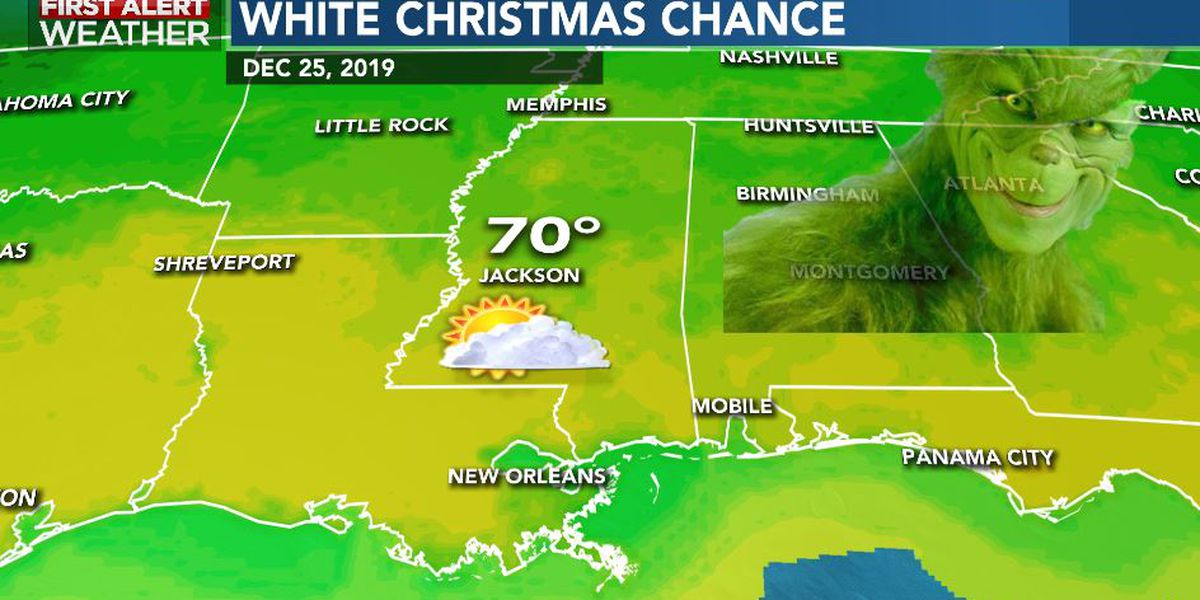 First Alert Forecast: clouds hang on Monday; warmer Christmas