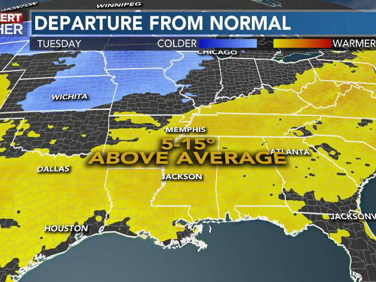 First Alert Forecast: late Summer warmth continues mid-week