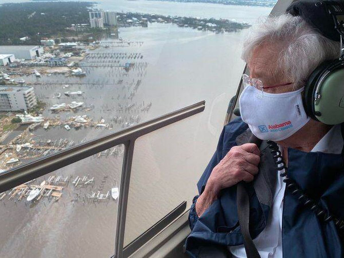 'Y'all, it's really bad': Gov. Ivey tours and pledges support for Gulf Coast