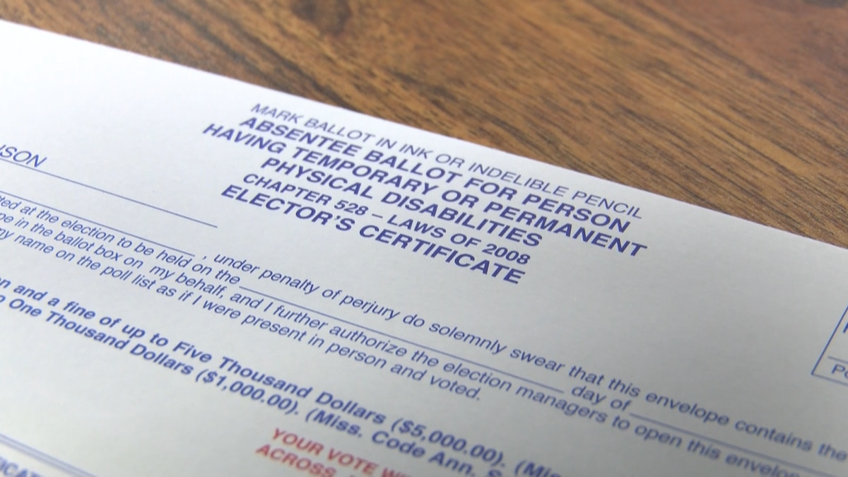One absentee ballot mistake gets fix in Mississippi with new rule