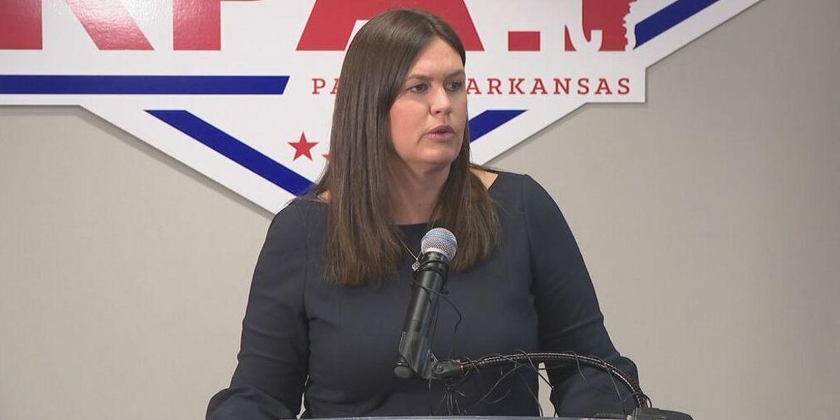 Report: Sarah Huckabee Sanders to run for Arkansas governor
