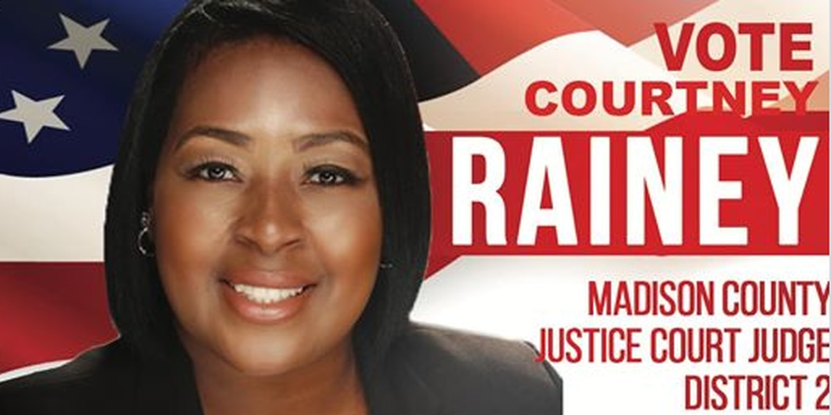 Courtney Rainey, who was indicted for voter fraud, running for a Justice Court seat in Canton
