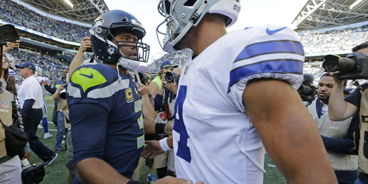 Cowboys' Prescott seeks 1st playoff win vs Wilson, Seahawks