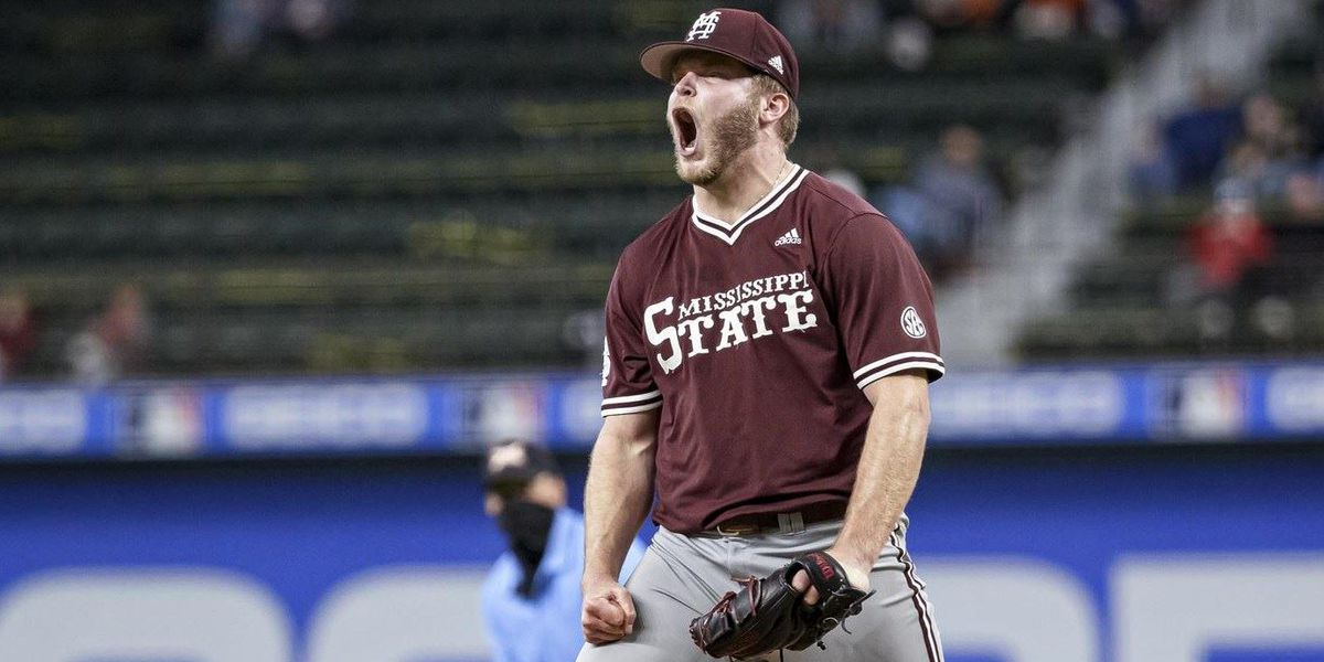 Sims strikes out ten as MSU opens season with win