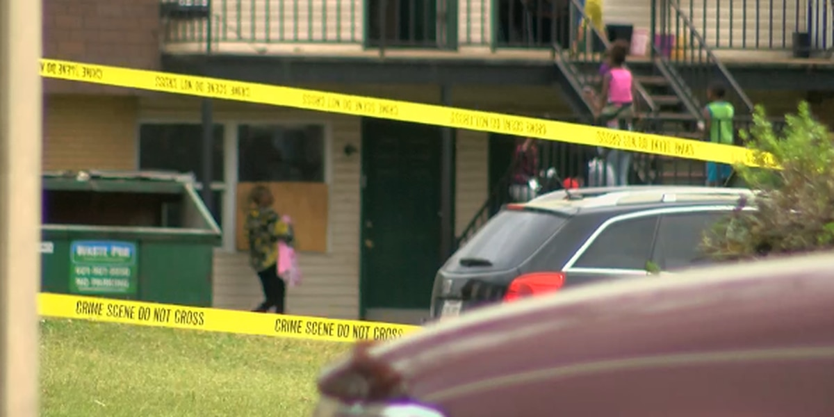 Man shows up at hospital after allegedly being shot at apartment complex