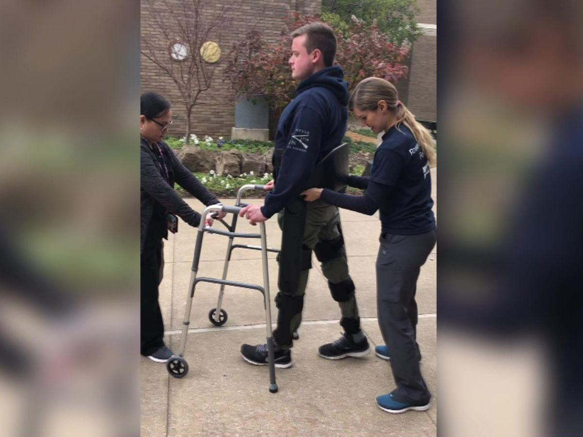 Paralyzed Olive Branch veteran to receive donated exoskeleton