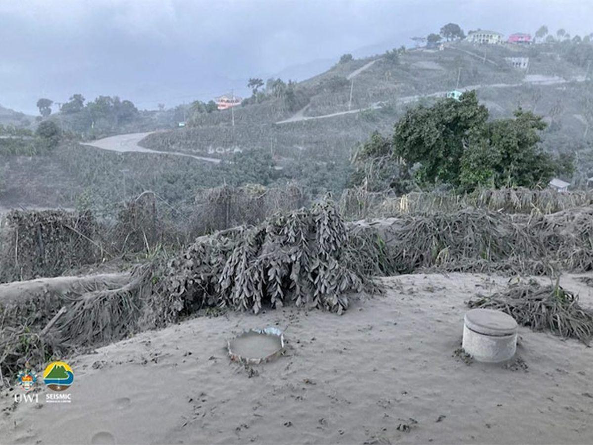 St. Vincent seeks water, funds as volcano keeps erupting