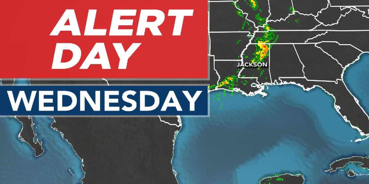 ALERT DAY: Severe weather possible tonight!