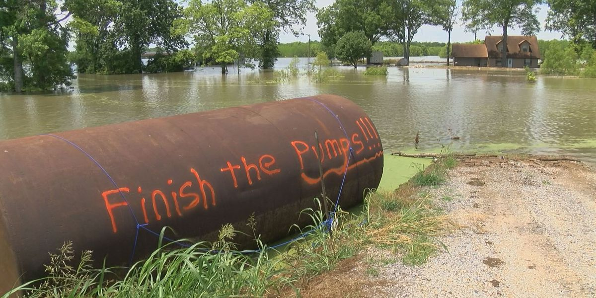 Conservation groups sue Engineer Corps over Yazoo Pumps