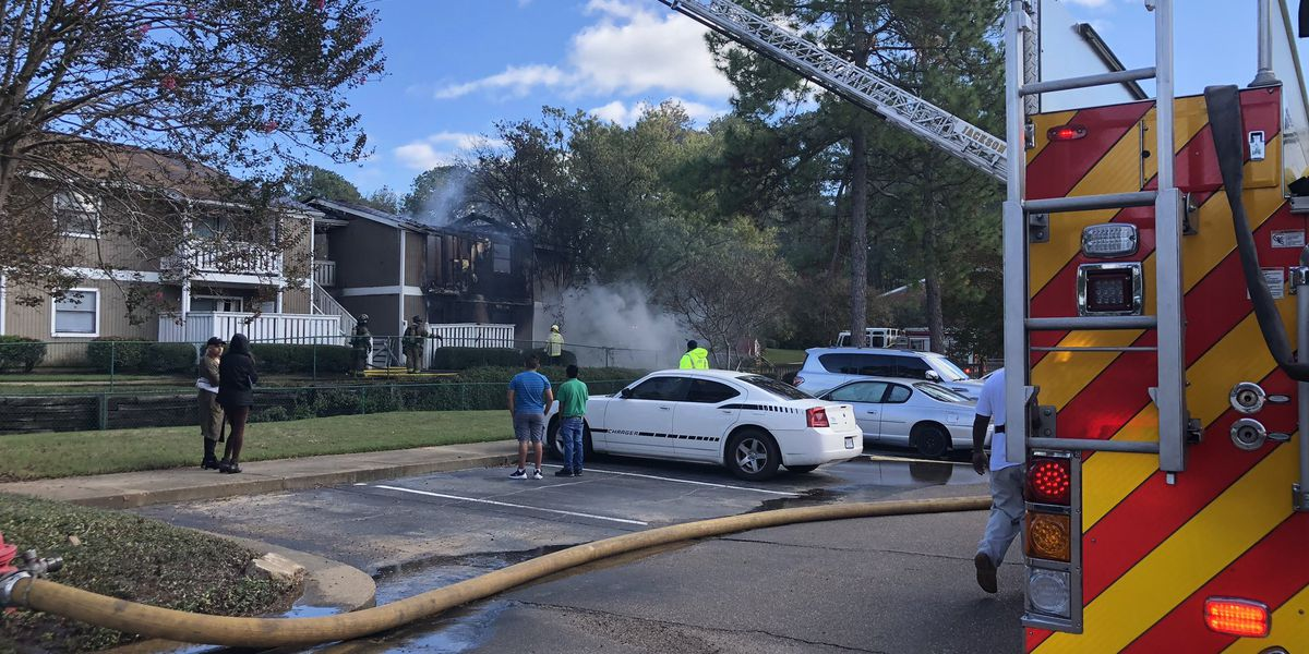 Several units destroyed in fire at Somerset Place apartments