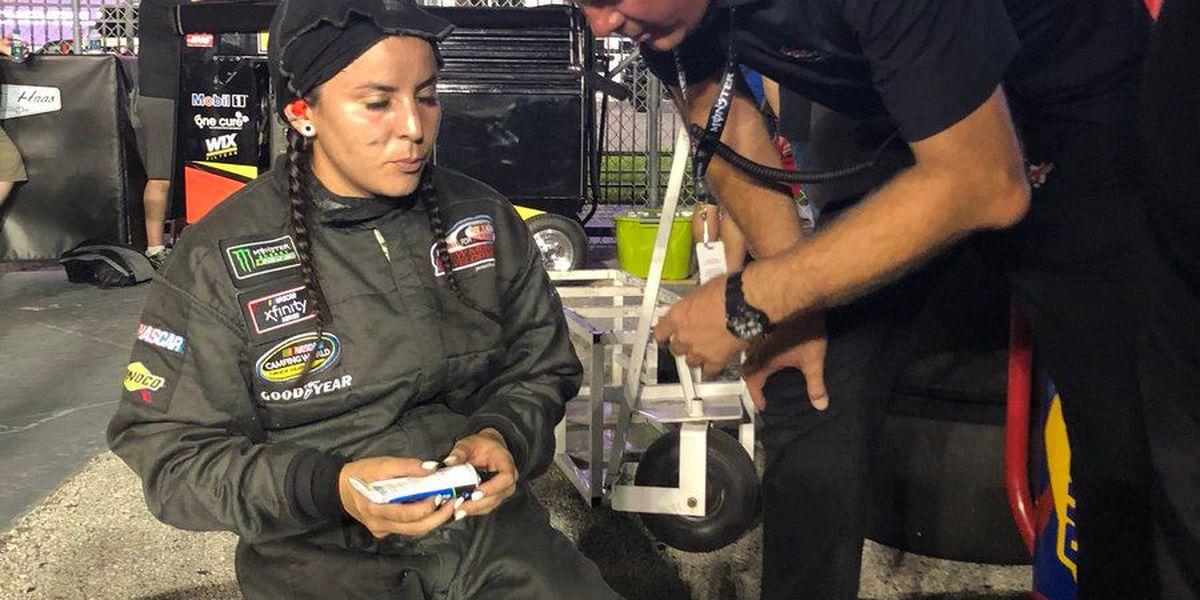 Alcorn State alum Breanna O'Leary makes NASCAR history