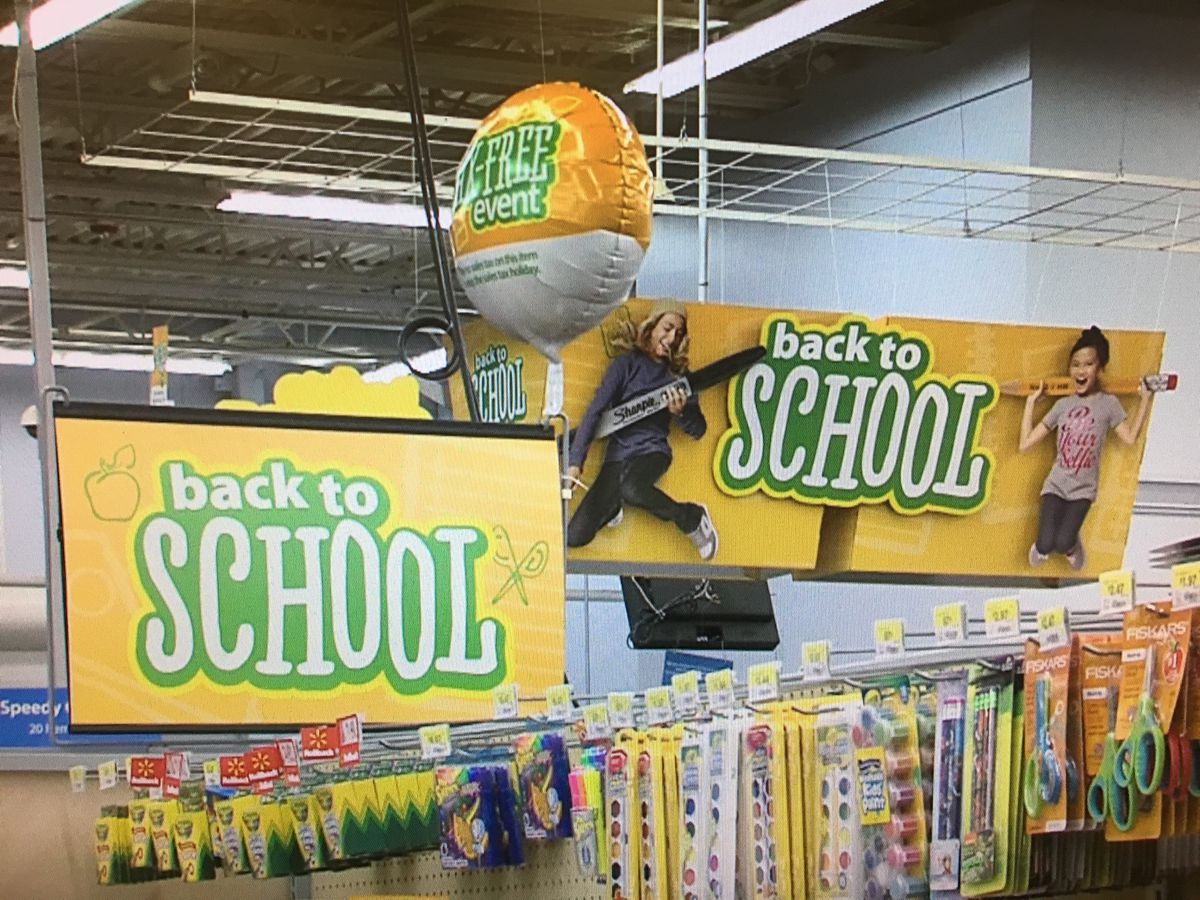 Sales Tax Holiday finally includes school supplies