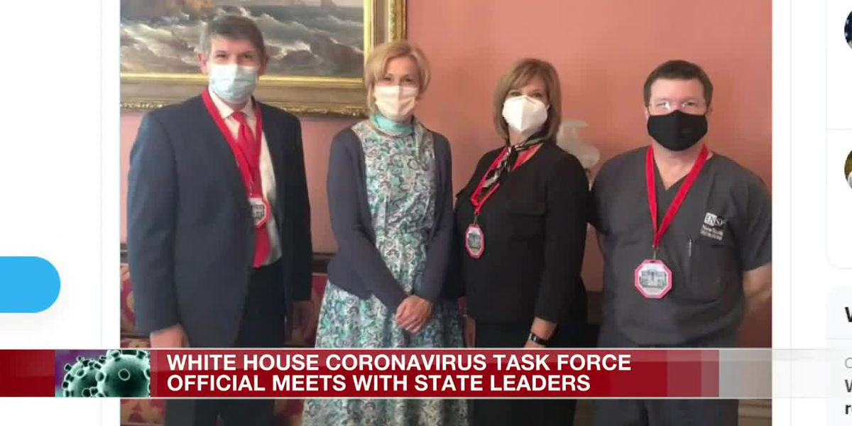 White House COVID-19 Task Force Coordinator Dr. Deborah Birx meets with Mississippi leaders