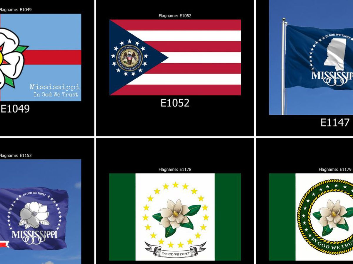 Commission narrows down state flag design choices