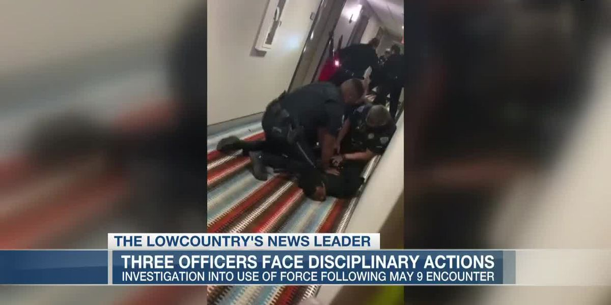 VIDEO: North Charleston police officers facing disciplinary actions involving use of force