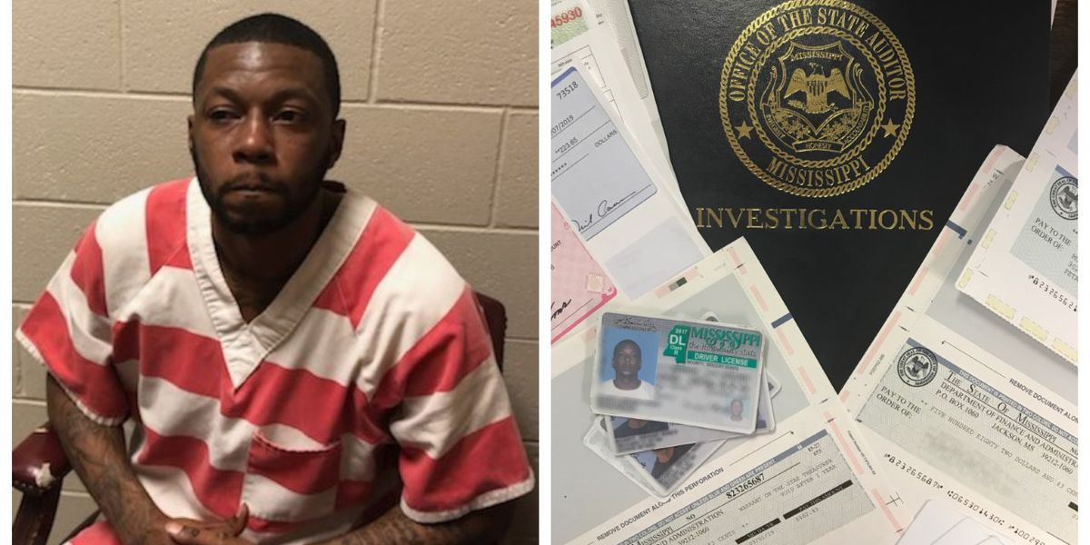State Auditor arrests member of Jackson counterfeit check ring