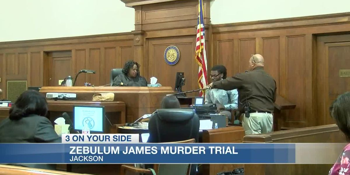Murder trial for James