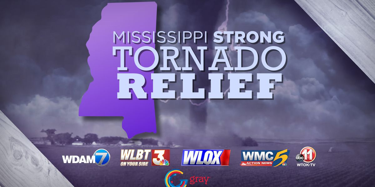 Mississippi Strong: WLBT, Red Cross launch fundraiser for tornado victims
