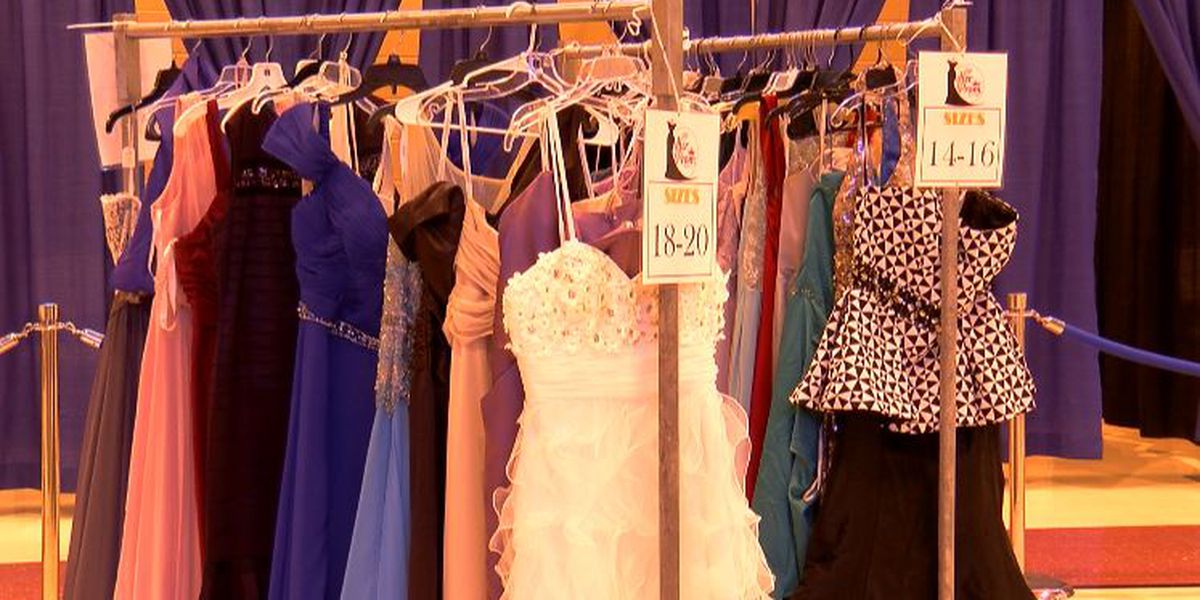Non-profit helps local students ease the price of prom by giving away dresses for free