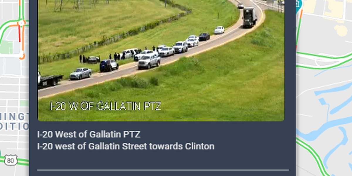 Crash on I-20 West ramp near Gallatin St. exit