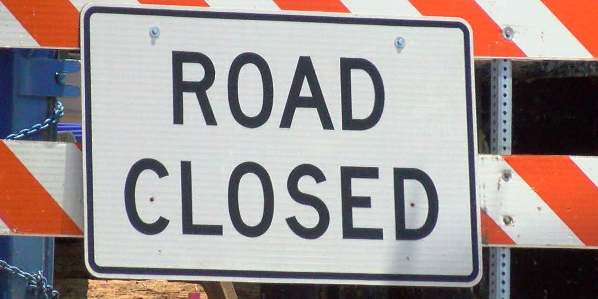 Hinds County road closed due to construction