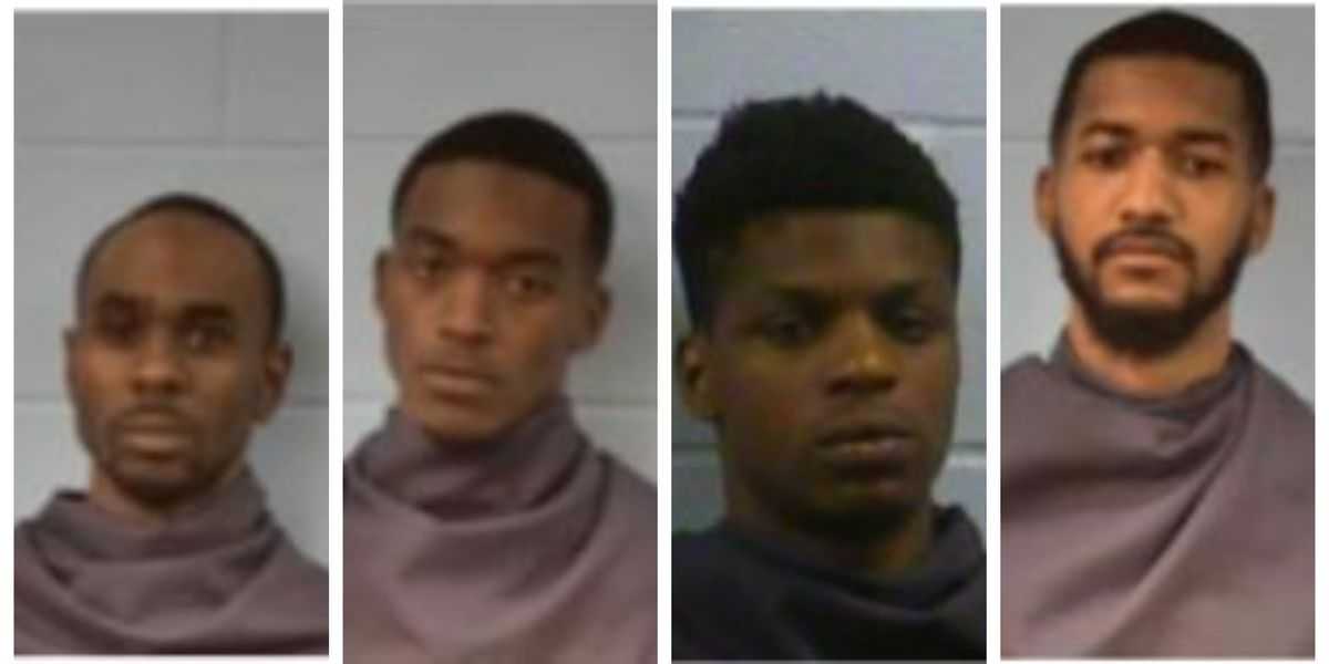 Bond set for five arrested in Vicksburg shootout