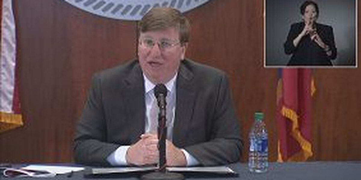 Gov. Reeves updates COVID-19 response in Miss.