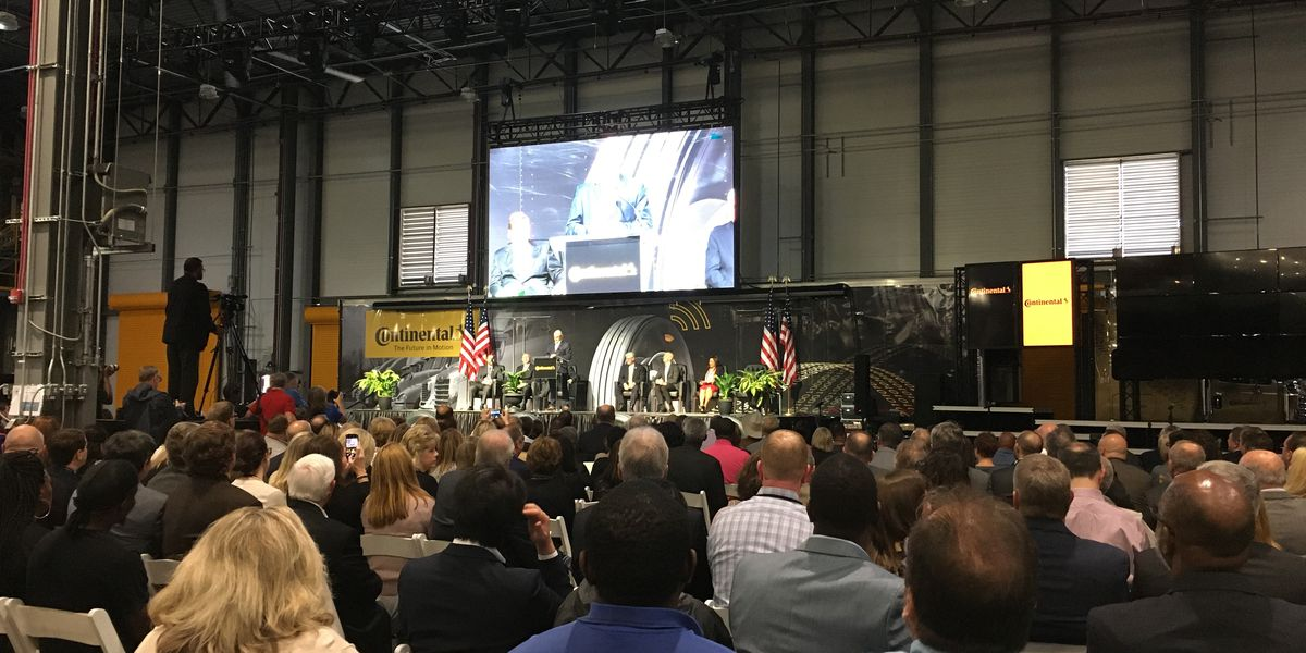 'This is a game changer': Grand opening held for Continental Tire plant in Clinton