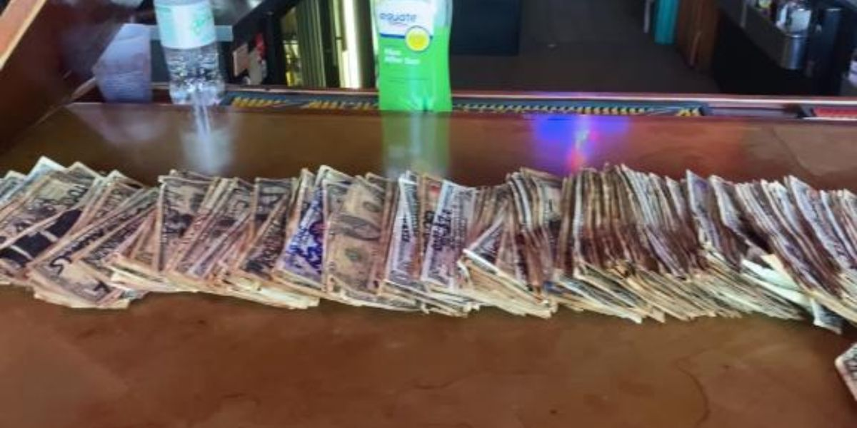 Georgia bar removes dollar bills stapled on walls to help pay employees during coronavirus outbreak