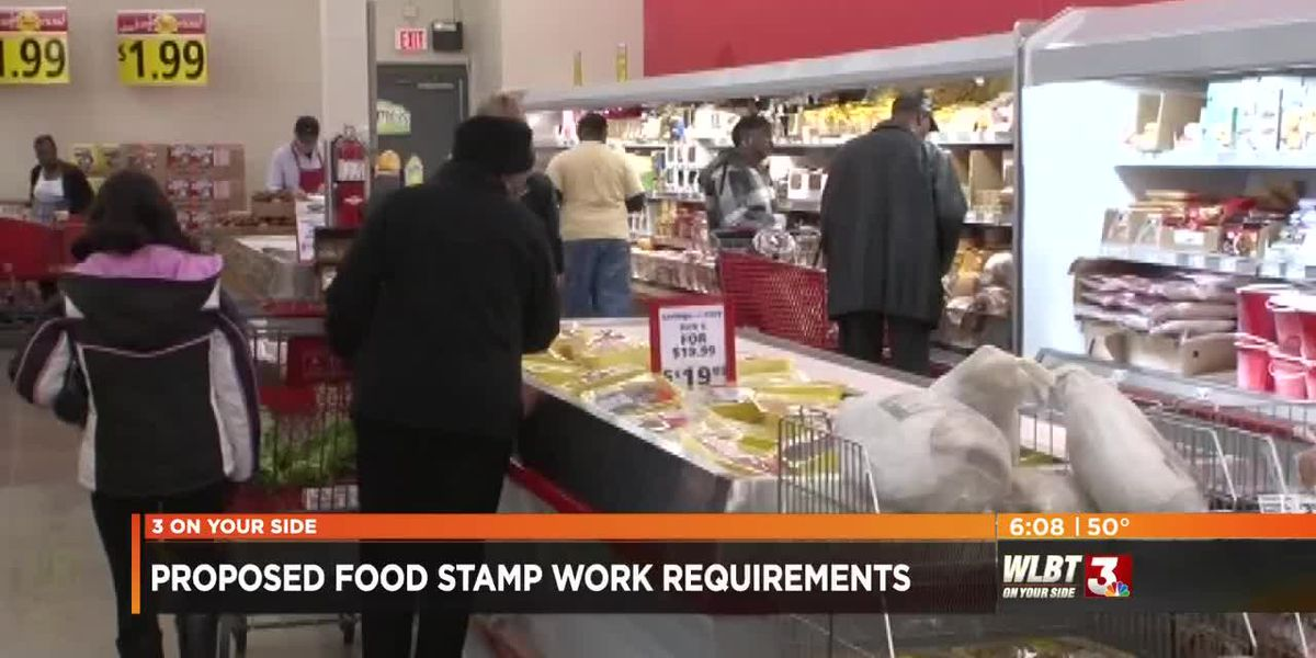 Local food bank complies with Trump administration's proposed work requirement for food stamps