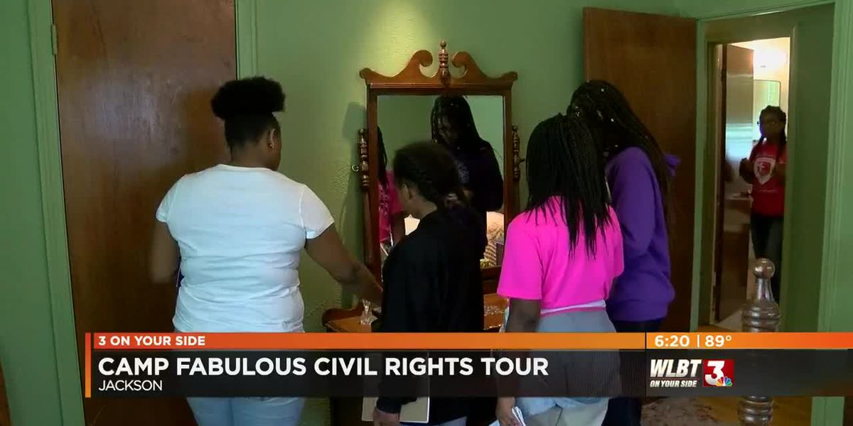 Camp Fabulous visits Mississippi Civil Rights Tour during ninth summer of learning