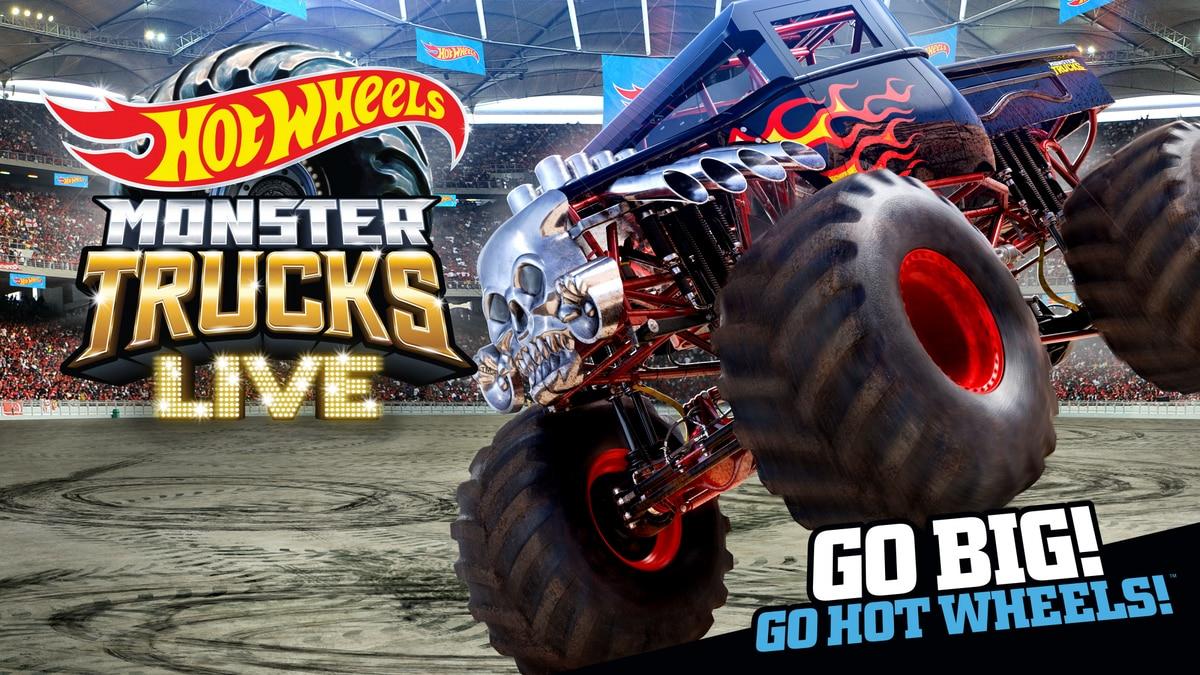 Hot Wheels Monster Trucks Live Giveaway