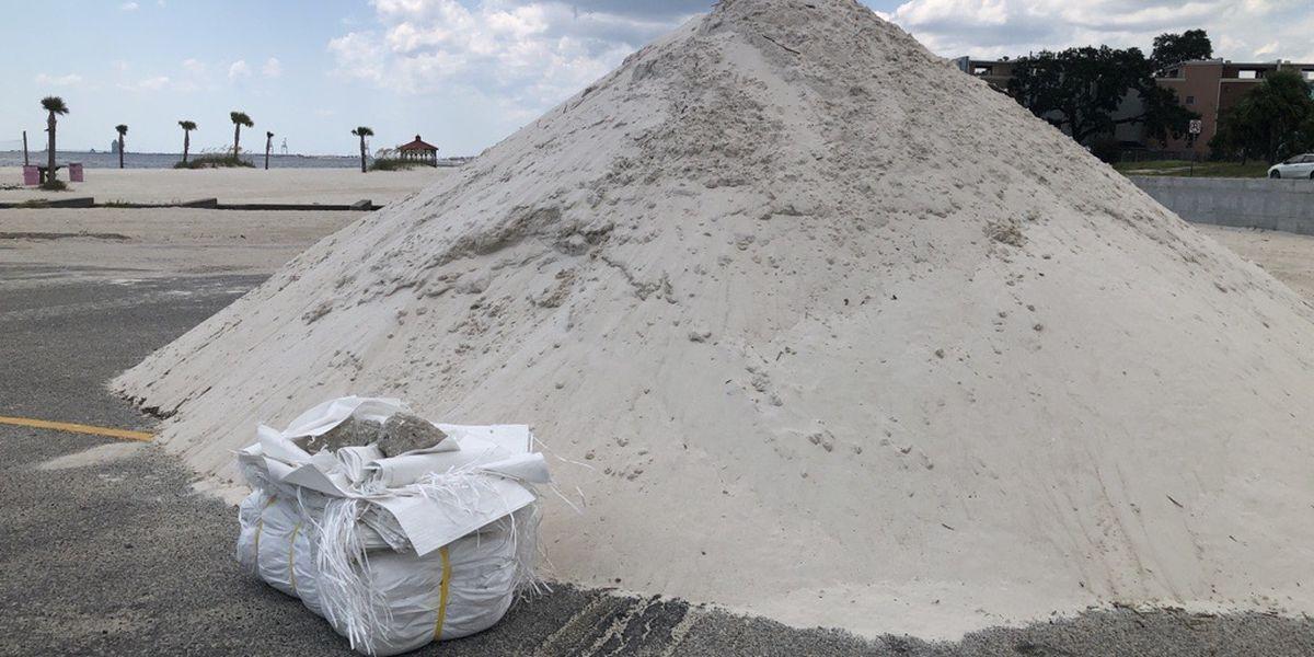 Self-serve sandbag locations available ahead of tropical weather