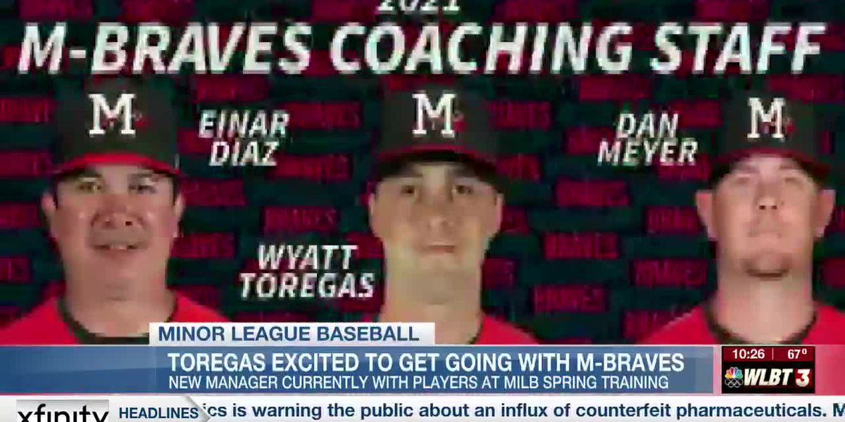 Toregas excited to get started with the M-Braves