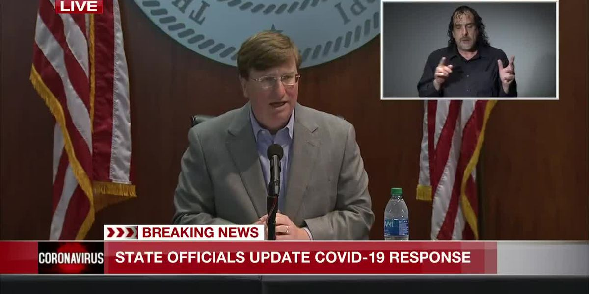 Gov. Reeves discusses COVID-19 as concern over hospitals rises