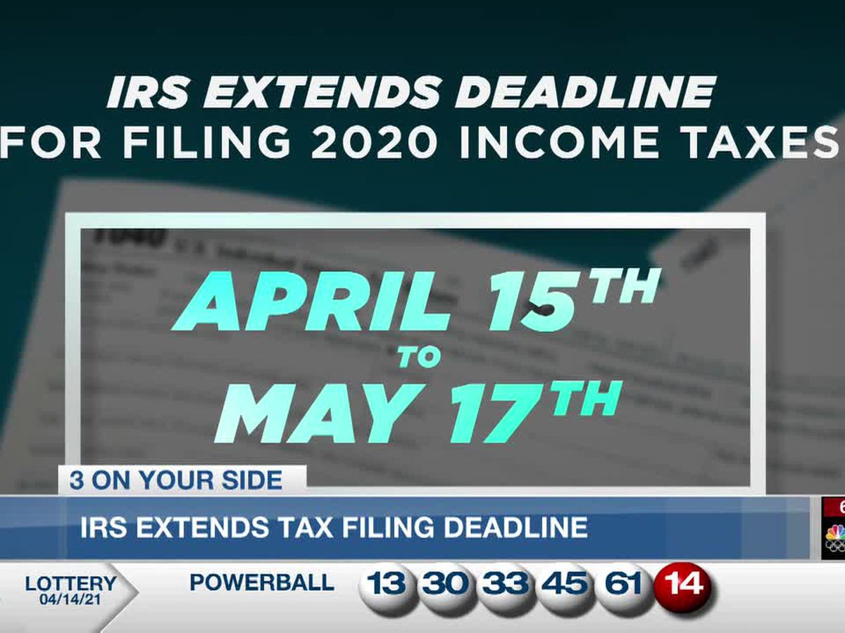 Federal government extending tax deadline day to May 17