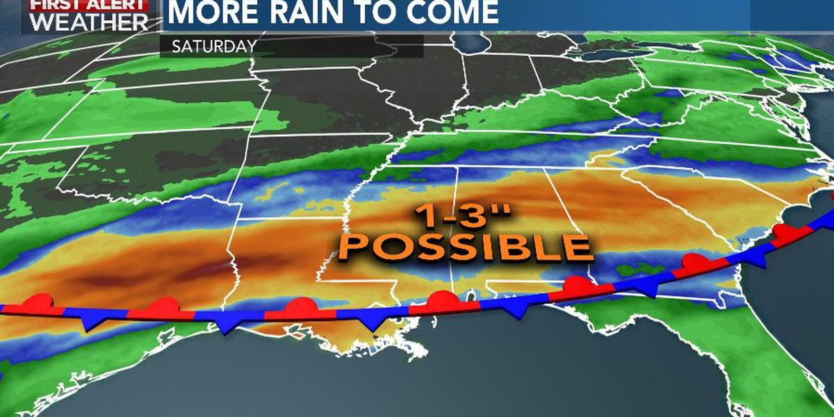 First Alert Forecast: rain returns as river flooding continues