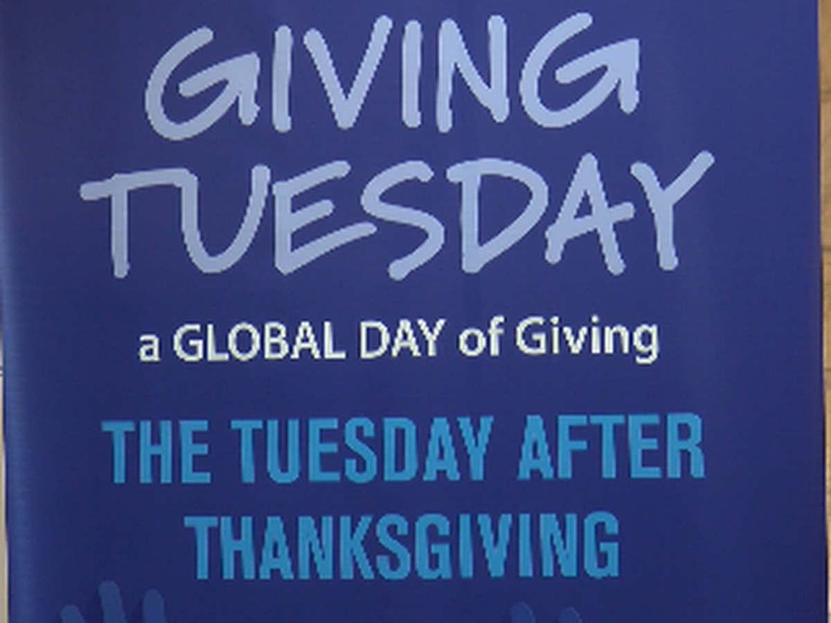 Giving Tuesday: 'every act of generosity counts'